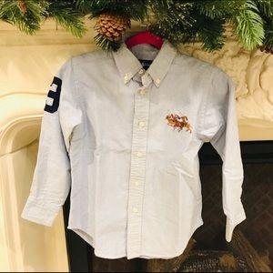 Ralph Lauren Denim Boys Dress Shirt